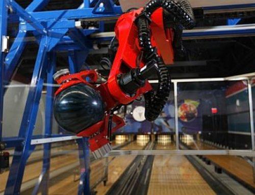 E.A.R.L. a bowling robot