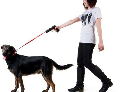 Pisztoly alakú kutyapóráz