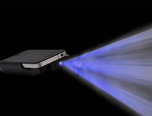 iPhone projektoros tok