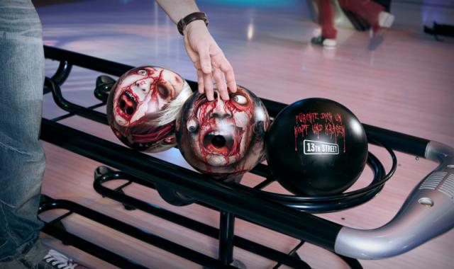 Horror zombi tekegolyó