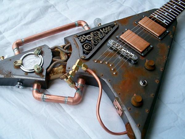 Steampunk gitár