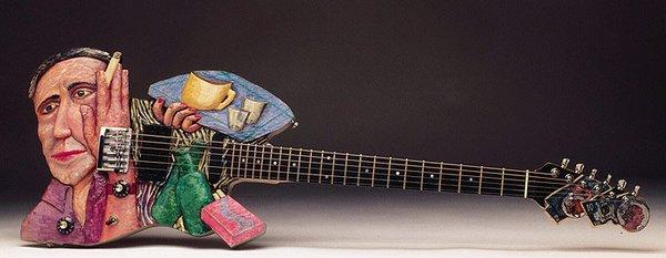 Képzőművész gitár
