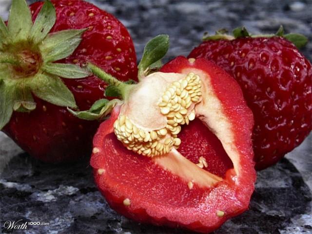 Photoshop gyümölcs: paprika-eper