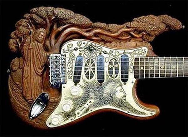Faragott gitár