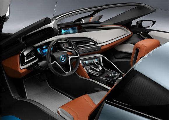 BMW hybrid i8 Spyder koncepció autó utastér