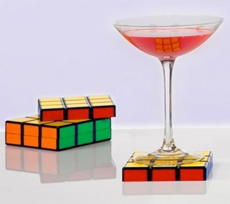 Szokatlan söralátét - Rubik kocka