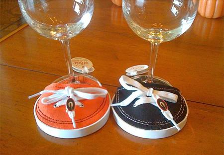 Szokatlan söralátét - pohár tornacipő
