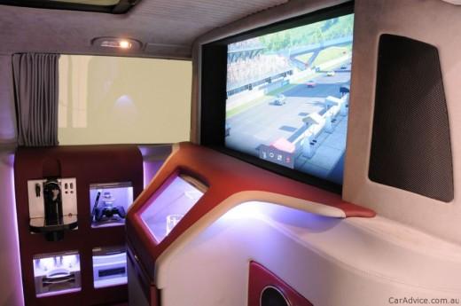 Luxus iroda 4 keréken - Brabus Mercedes-Benz Viano (5)