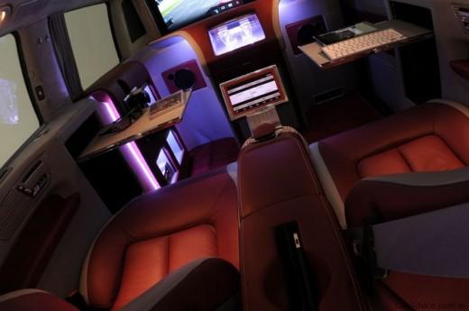 Luxus iroda 4 keréken - Brabus Mercedes-Benz Viano (16)