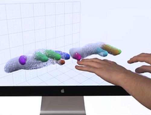 Leap Motion 3D mozgásérzékelő