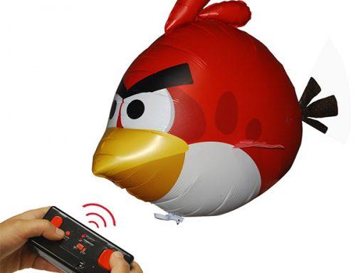 A csúzli nélkül is repülni képes Angry Birds
