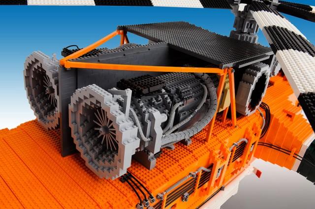 LEGO - Erickson Air-Crane Elvis helikopter 2