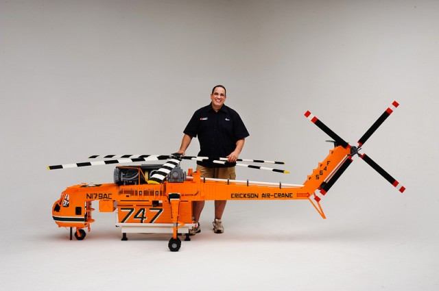 LEGO - Erickson Air-Crane Elvis helikopter 1